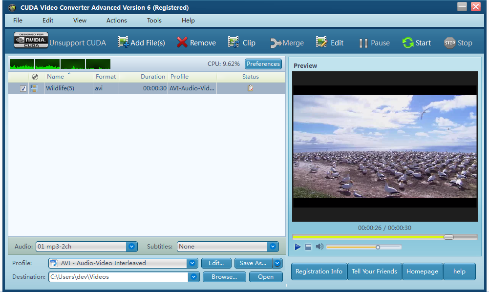 Video converter to Convert,Edit,Transfer video/audio file for multimedia devices